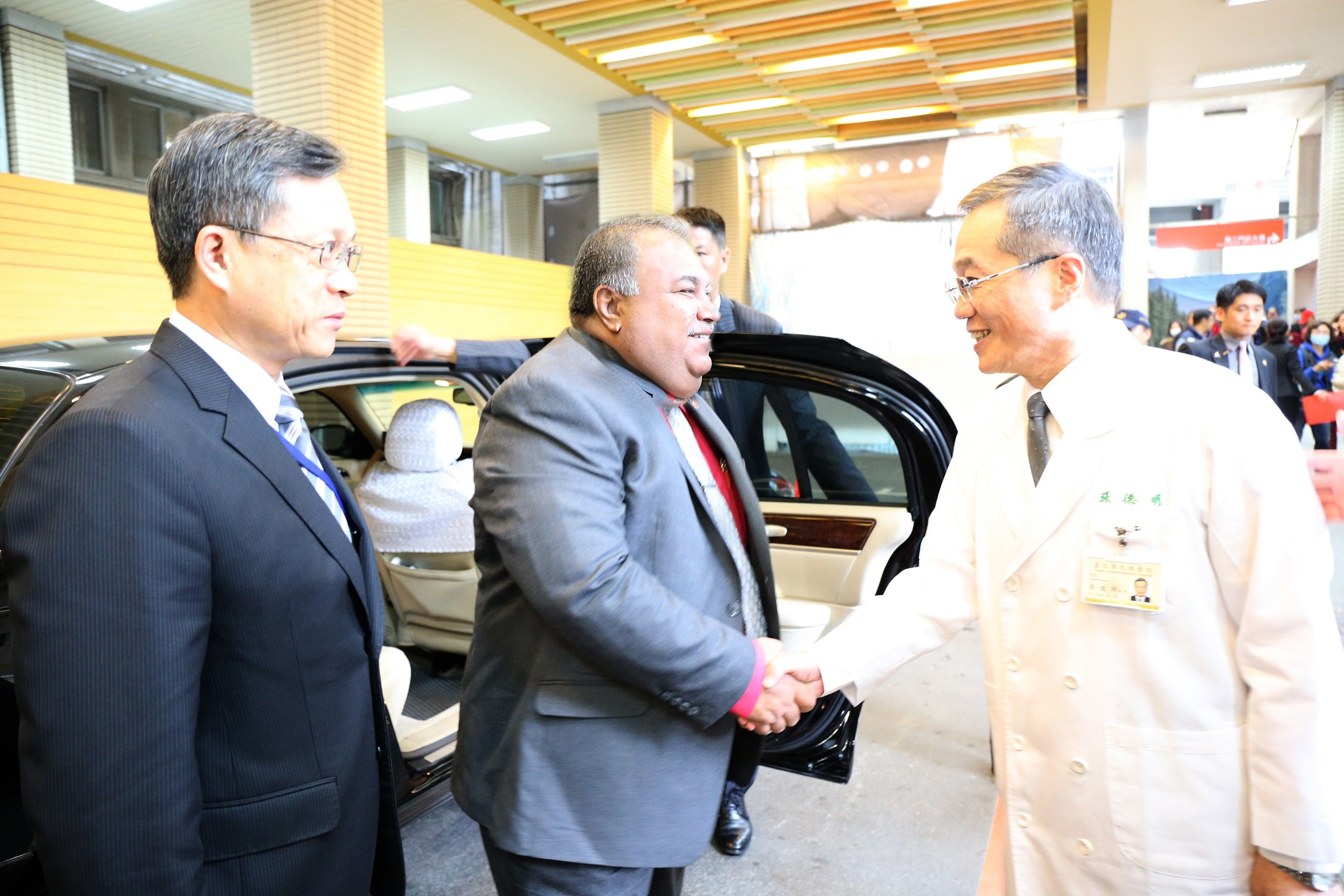 諾魯總統 Mr. Baron Waqa 來訪