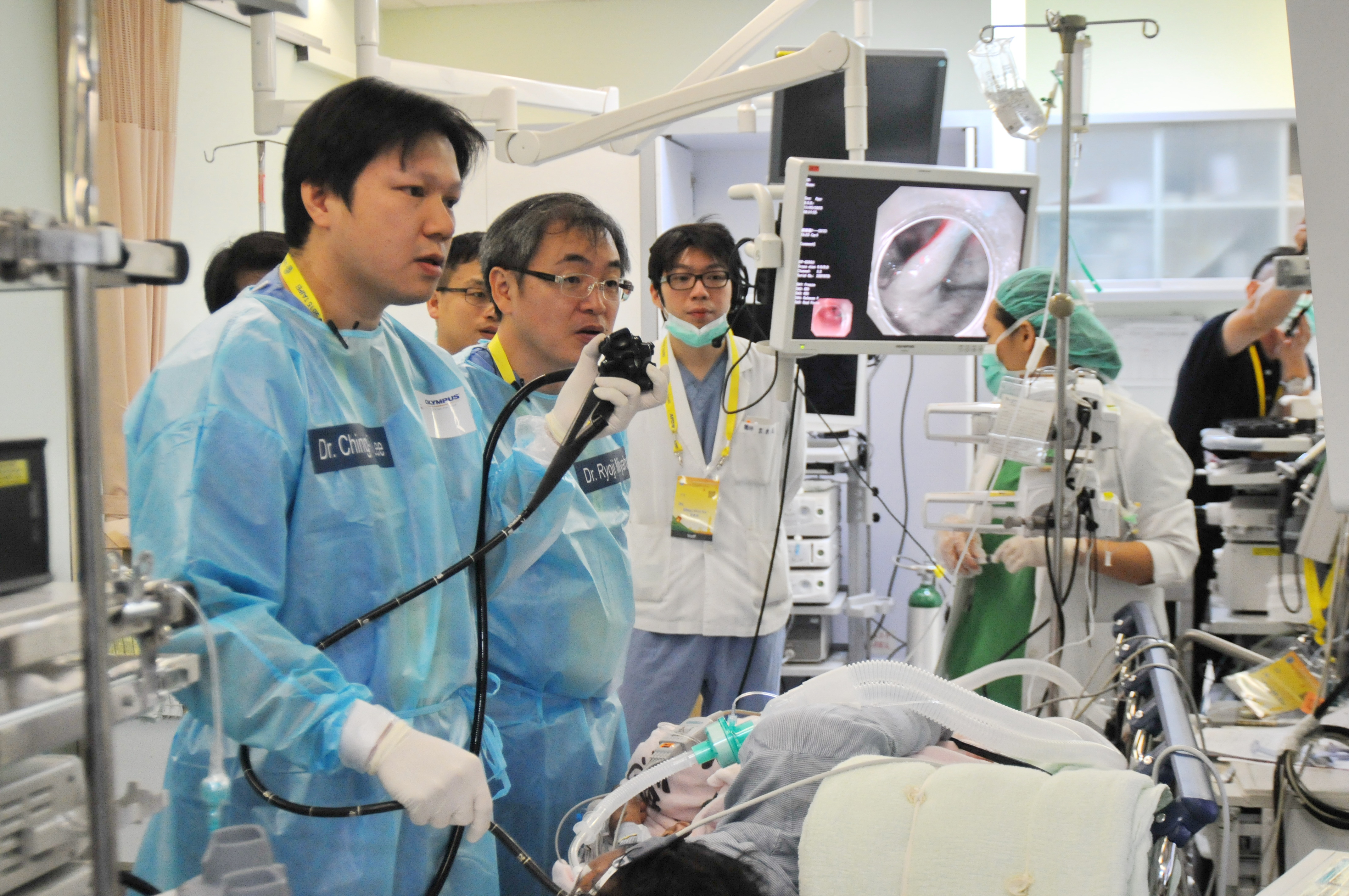 The live demonstration activity were conducted  in the Endoscopy Center of TVGH.